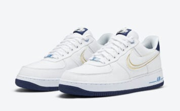 Nike Air Force 1 Low White Canvas DB3541-100 Release Date Info