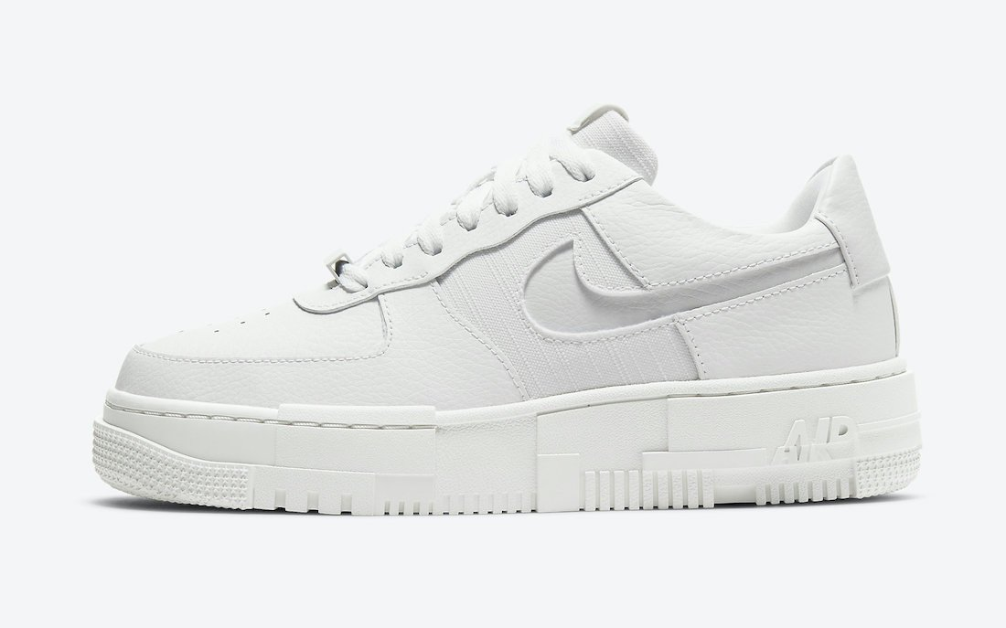 Nike Air Force 1 Pixel Summit White CK6649-102 Release Date Info
