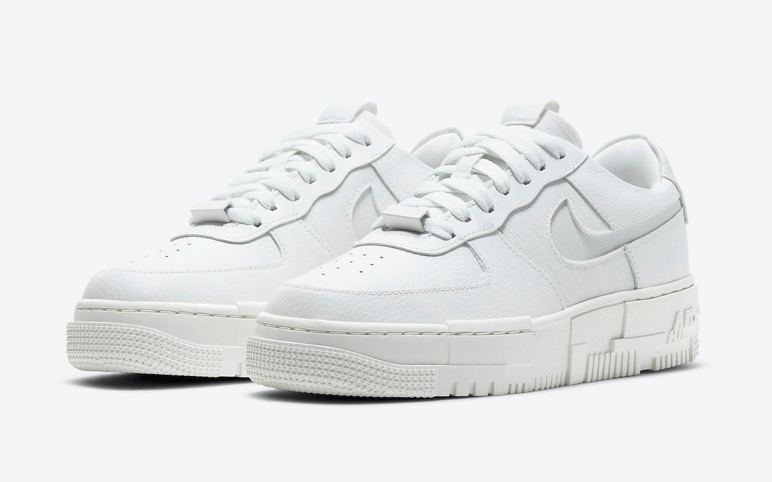 Nike Air Force 1 Pixel in 'Summit White'