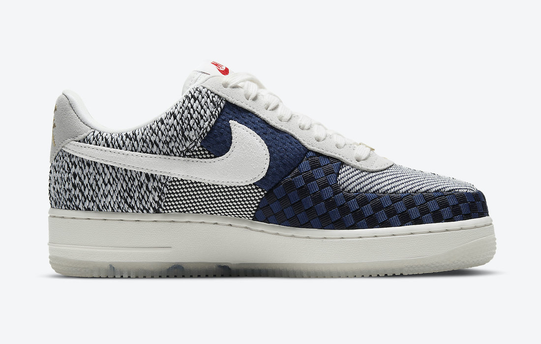 Nike Air Force 1 Sashiko DD5401-492 Release Date Info
