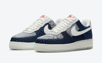 Nike Air Force 1 Sashiko DD5401-492 Release Date Info
