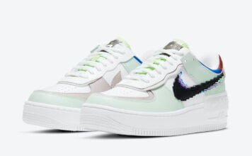 Nike Air Force 1 Shadow Pixel CV8480-300 Release Date Info