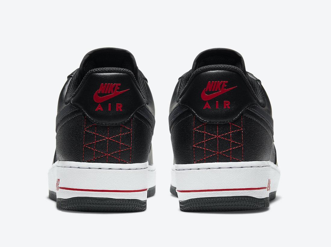 Nike Air Force 1 Technical Stitch Bred DD7113-001 Release Date Info