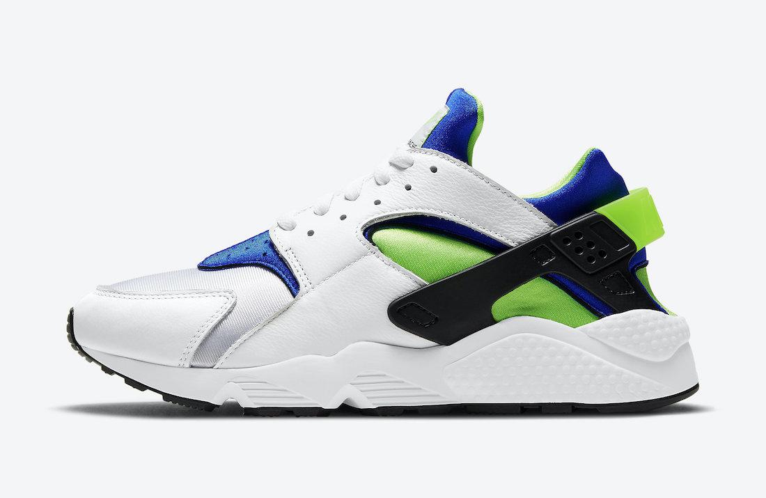 Nike Air Huarache Scream Green DD1068-100 2021 Release Date