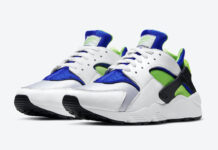 Nike Air Huarache Scream Green DD1068-100 2021 Release Date