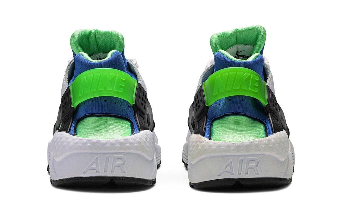 Nike Air Huarache Scream Green DD1068-100 Release Date Info