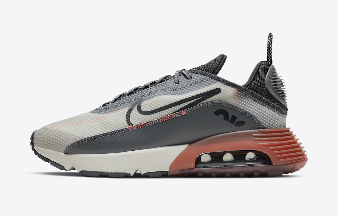Nike Air Max 2090 Grey Clay Brown CV8835-001 Release Date Info