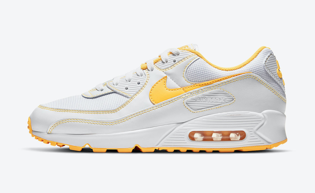 Nike Air Max 90 Laser Orange DH0276-100 Release Date Info