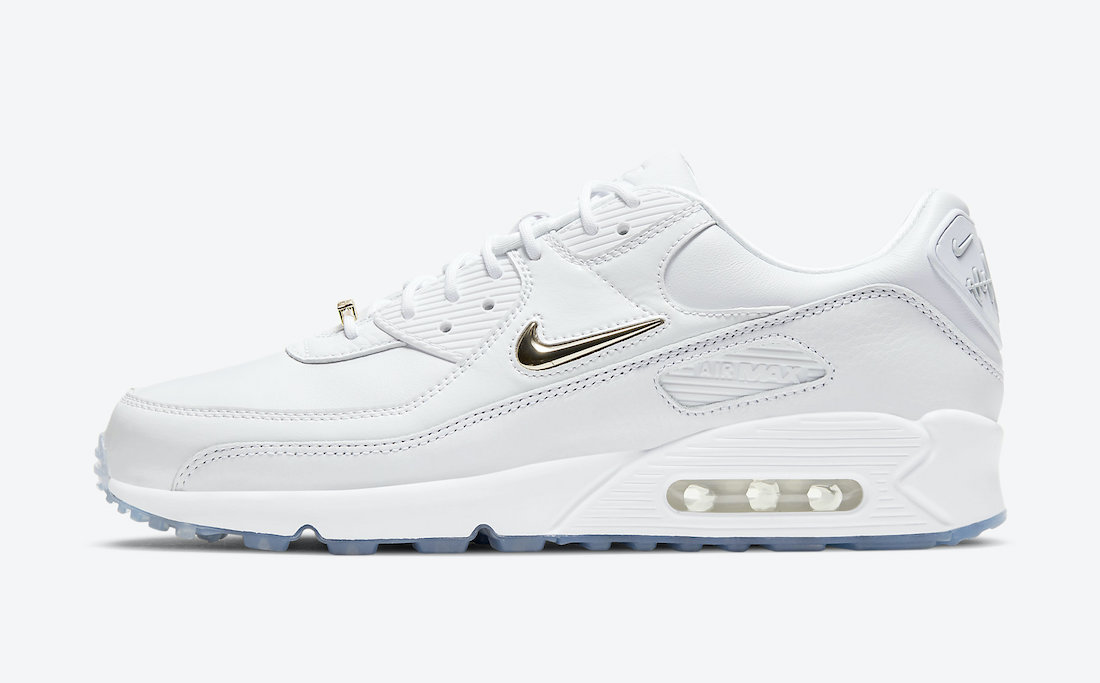 Nike Air Max 90 Pirate Radio White Gold CW4070-100 Release Date Info