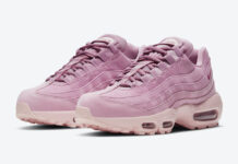 Nike Air Max 95 WMNS Pink Suede DD5398-615 Release Date Info