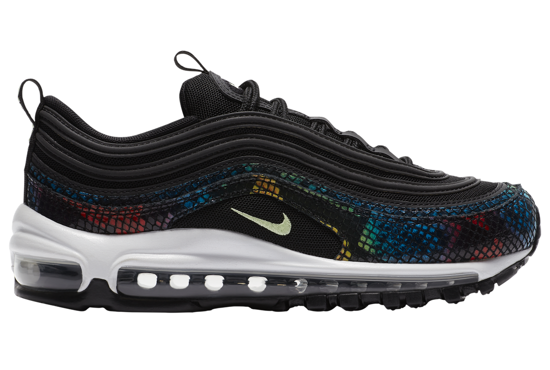 Nike Air Max 97 Rainbow Snake CW5595-002 Release Date Info