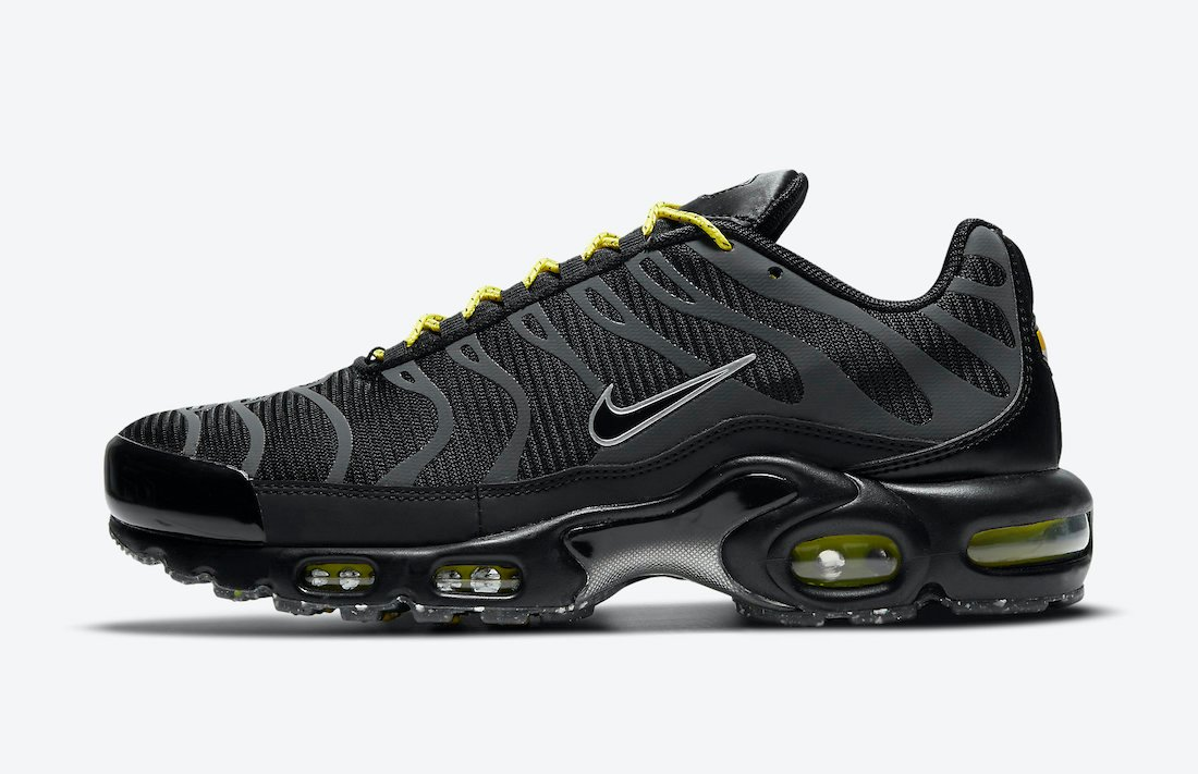 Nike Air Max Plus Black Yellow DD7112-002 Release Date Info