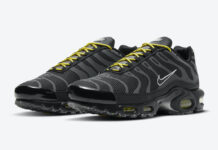 Nike Air Max Plus Black Yellow DD7112-002 Release Date Info