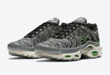 Nike Air Max Plus Essential Crater Electric Green DA9326-001 Release Date Info