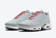 Nike Air Max Plus Grey Red DD7112-001 Release Date Info