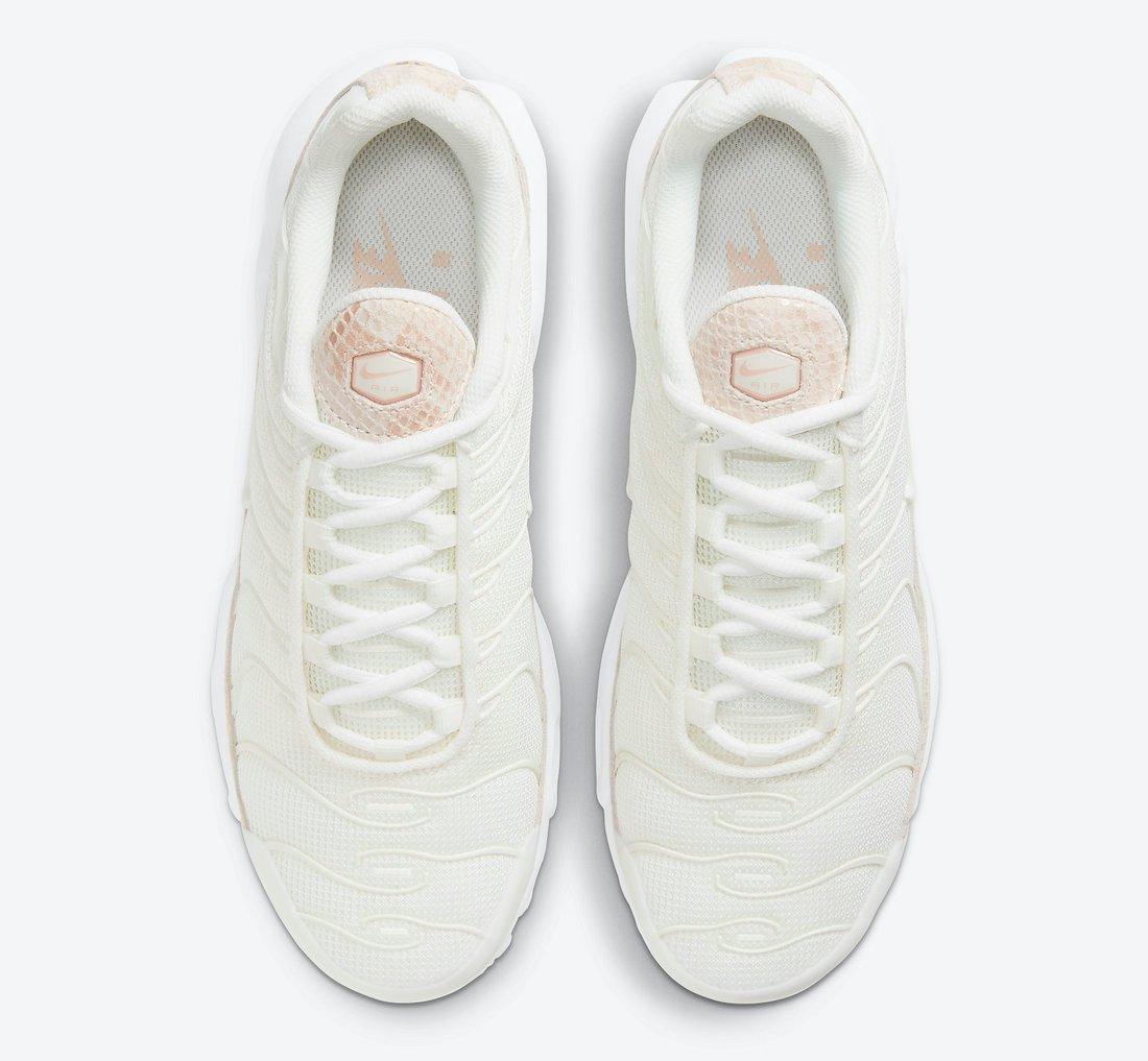 Nike Air Max Plus Pink Snakeskin DJ4601-100 Release Date Info