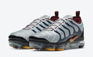 Nike Air VaporMax Plus Grey Navy DJ2737-001 Release Date Info