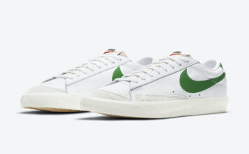 Nike Blazer Low Pine Green DA6364-100 Release Date Info