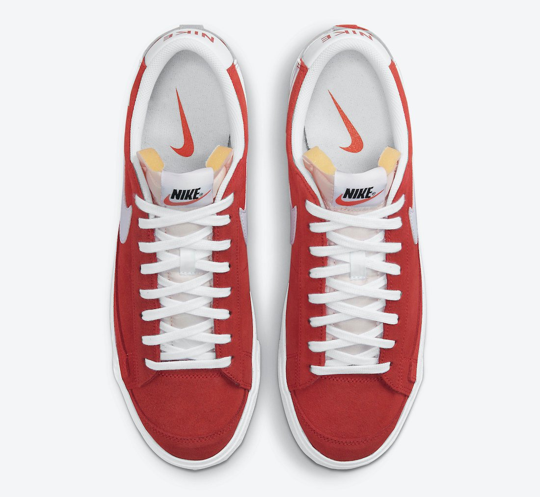 Nike Blazer Low Red Clay DA7254-600 Release Date Info