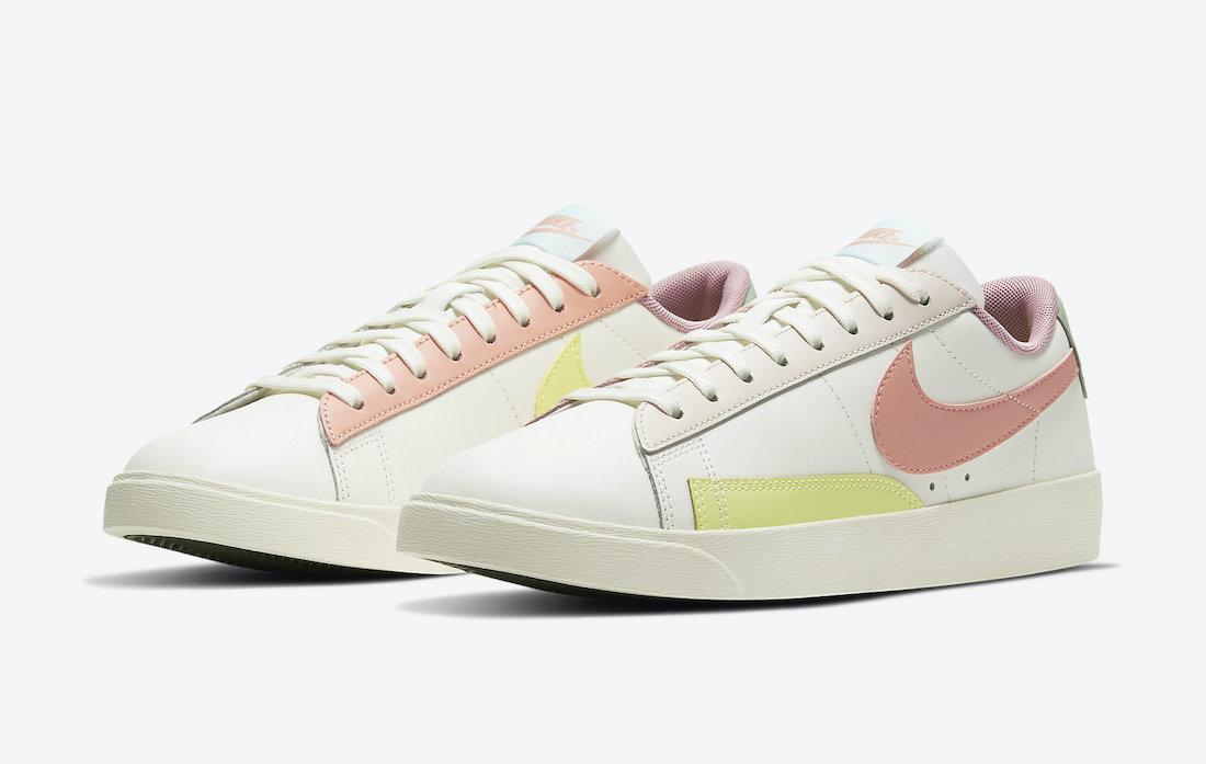 Nike Blazer Low WMNS Pastel DJ0035-161 Release Date Info