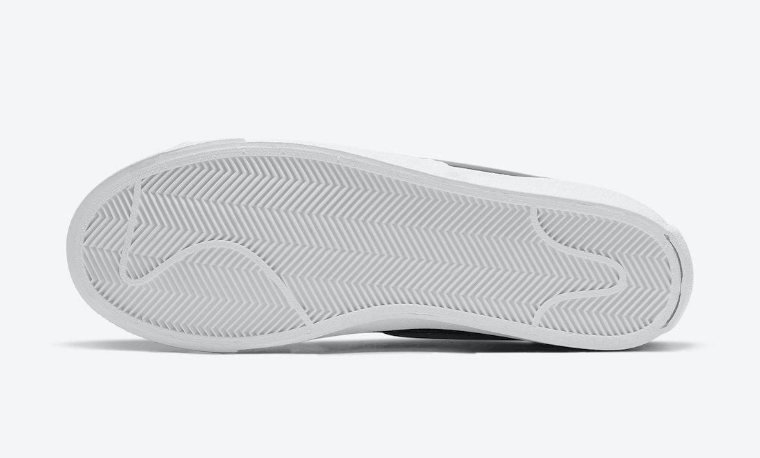 Nike Blazer Mid 77 Infinite Black White DA7233-001 Release Date Info