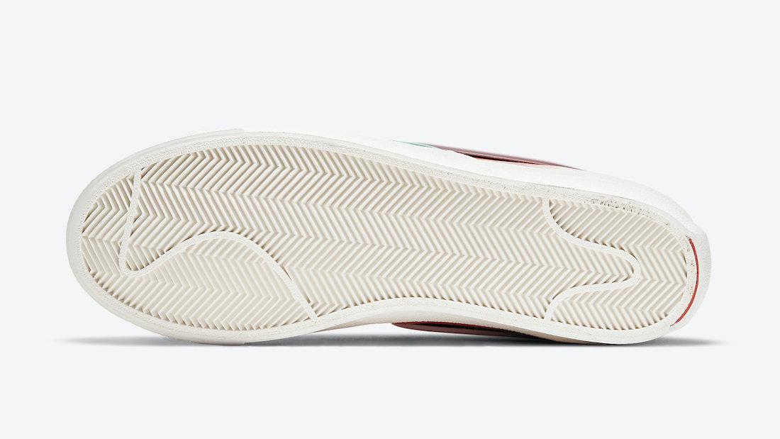 Nike Blazer Mid 77 Infinite Orange DA7233-800 Release Date Info