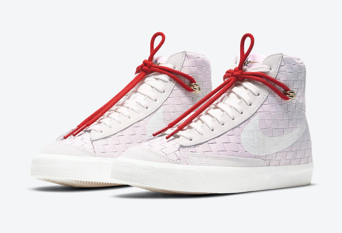 Nike Blazer Mid 77 Sashiko Pink DD5402-078 Release Date Info