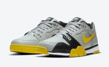 Nike Cross Trainer Low Grey Black Yellow CQ9182-002 Release Date Info