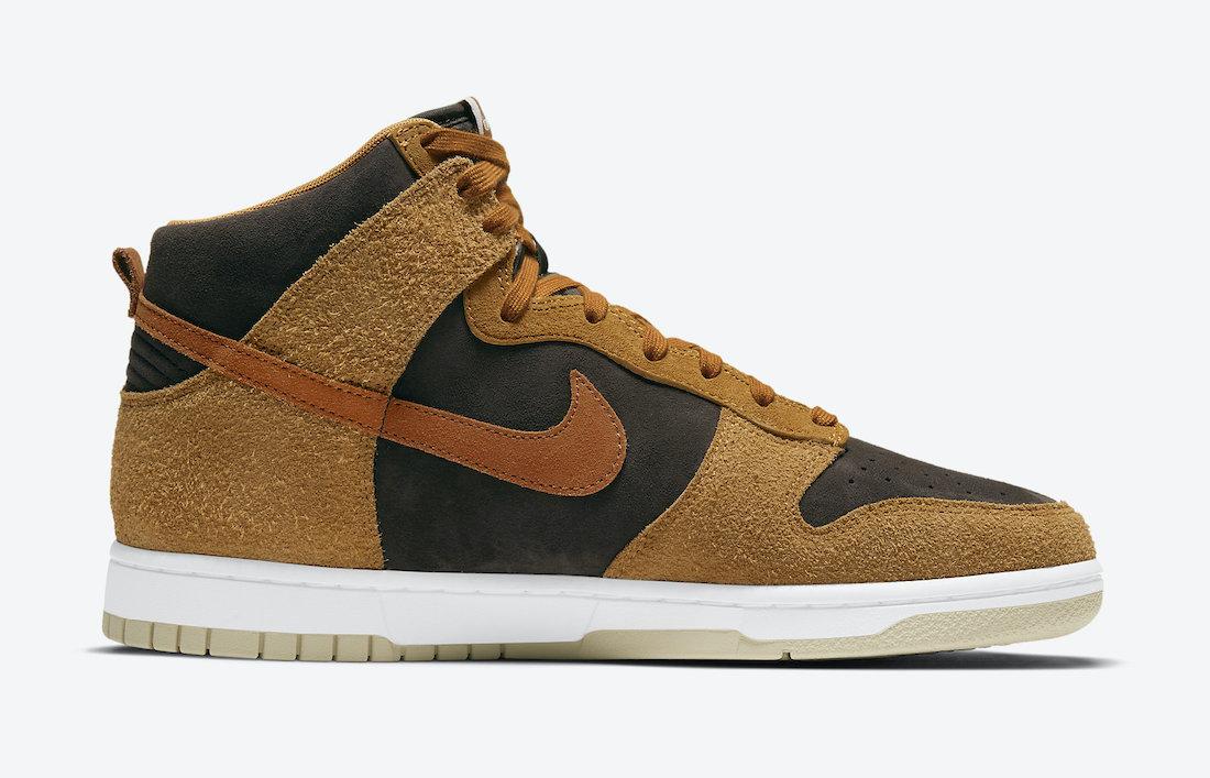 Nike Dunk High Dark Russet DD1401-200 Release Price