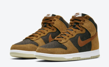 Nike Dunk High Dark Russet DD1401-200 Release Price