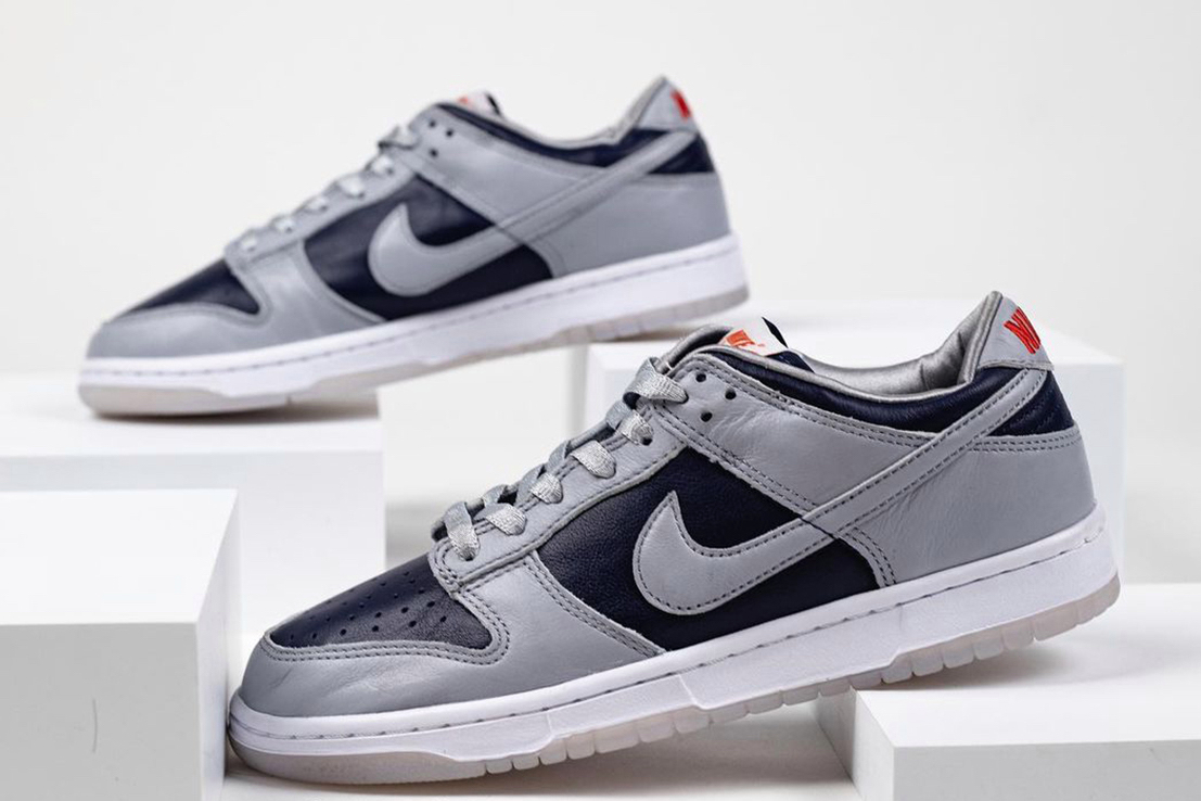 Nike Dunk Low College Navy Wolf Grey University Red DD1768-400 Release Date Info