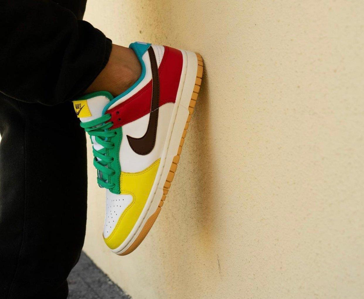 Nike Dunk Low Free 99 White DH0952-100 On-Feet