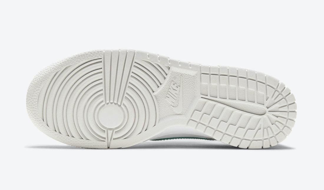 Nike Dunk Low GS Mismatch Swoosh CW1590-101 Release Date Info