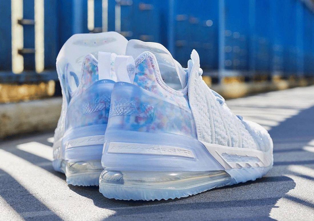 Nike LeBron 18 Blue Tint CW3156-400 Release Date