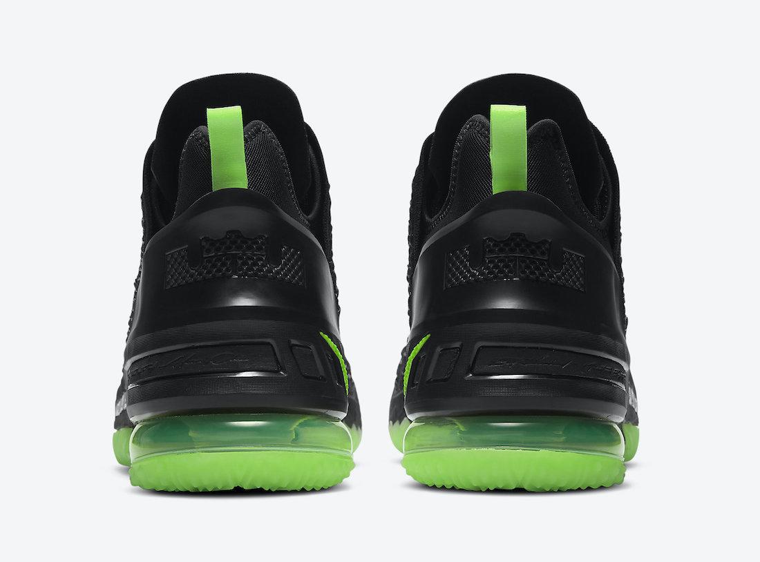Nike LeBron 18 Dunkman CQ9284-005 Release Date Info