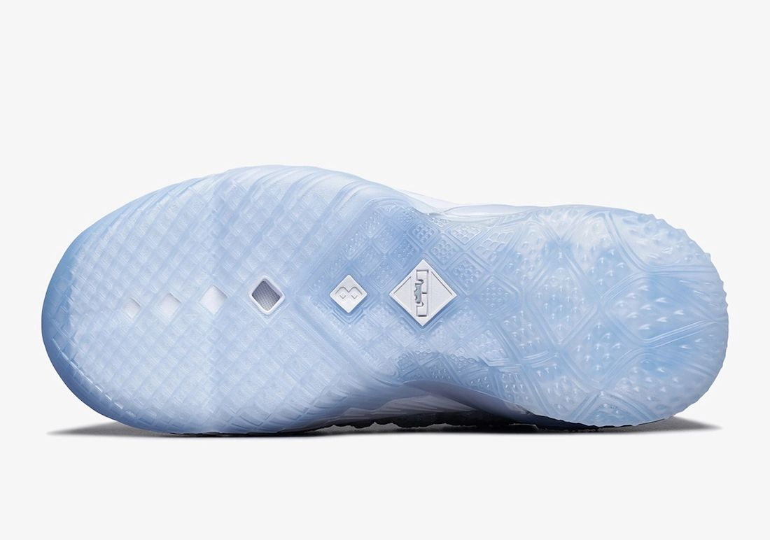Nike LeBron 18 NRG GS Blue Tint White Clear CT4677-400 Release Date Info