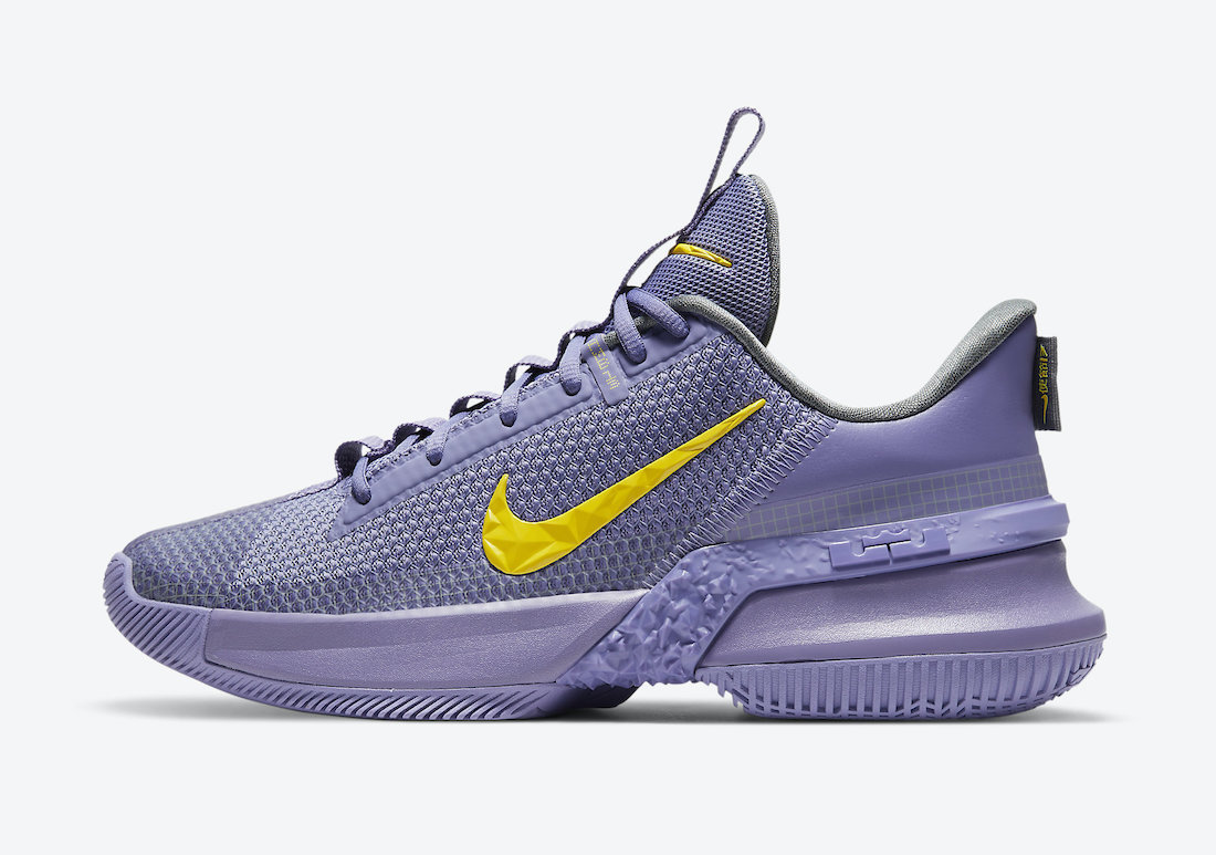 Nike LeBron Ambassador 13 Lakers CQ9329-500 Release Date Info