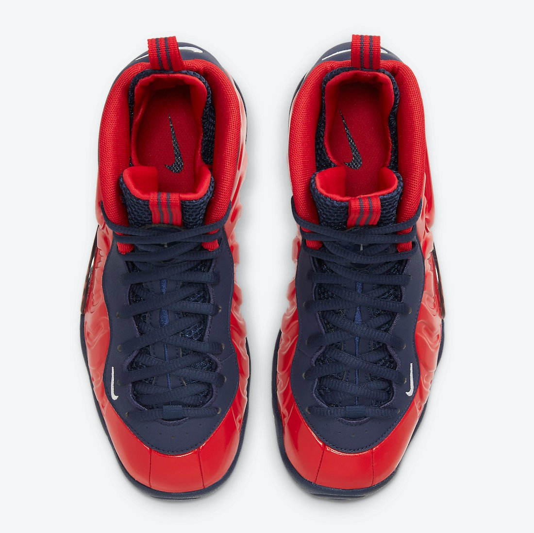 Nike Little Posite Pro Red Navy White CZ2520-600 Release Date Info