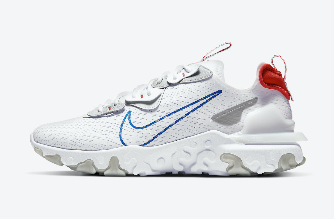 Nike React Vision White Game Royal DJ4597-100 Release Date Info