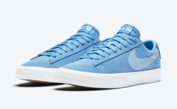 Nike SB Blazer Low GT Blue DC7695-400 Release Date Info