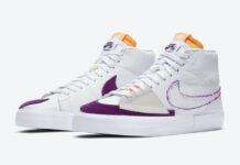 Nike SB Blazer Mid Edge White Purple DA2189-100 Release Date Info