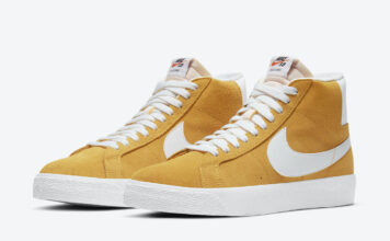 Nike SB Blazer Mid University Gold 864349-700 Release Date Info