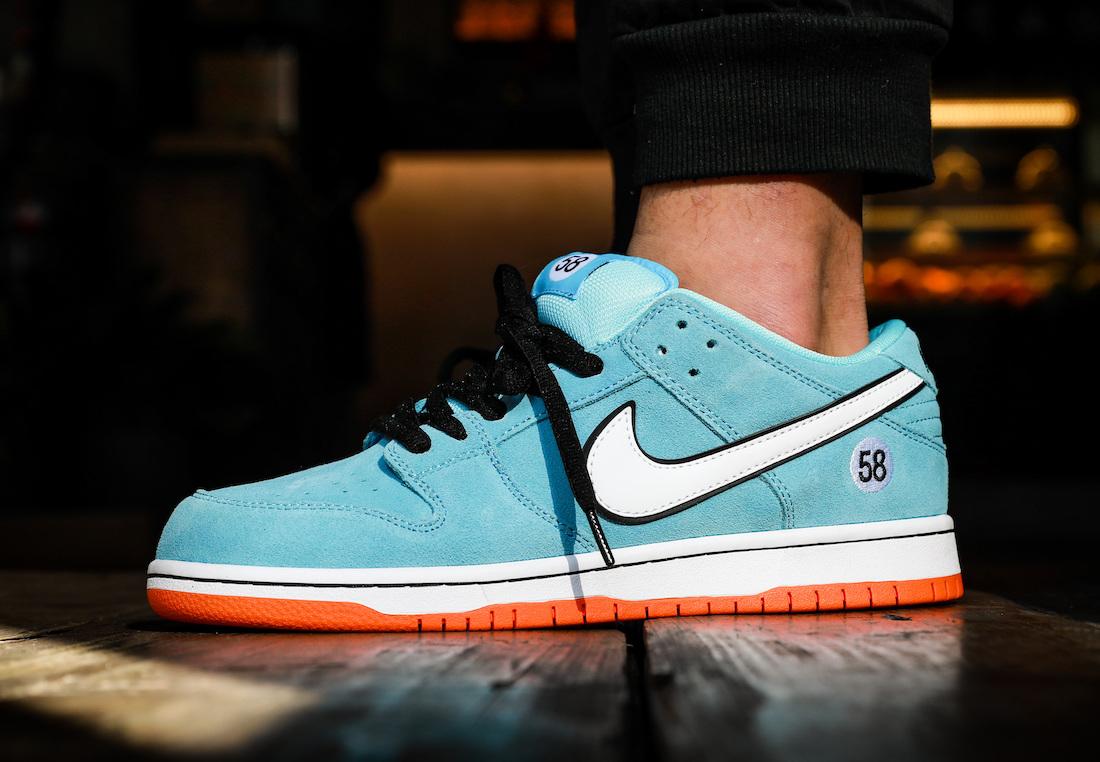 Nike SB Dunk Low Gulf BQ6817-401 On-Feet