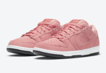 Nike SB Dunk Low Pink Pig CV1655-600 Release Details Price