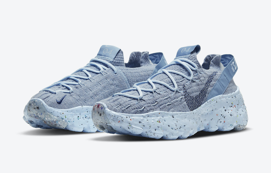 Nike Space Hippie 04 Chambray Blue CD3476-401 Release Date Info