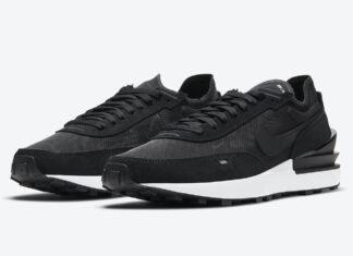 Nike Waffle One Black White DA7995-001 Release Date Info