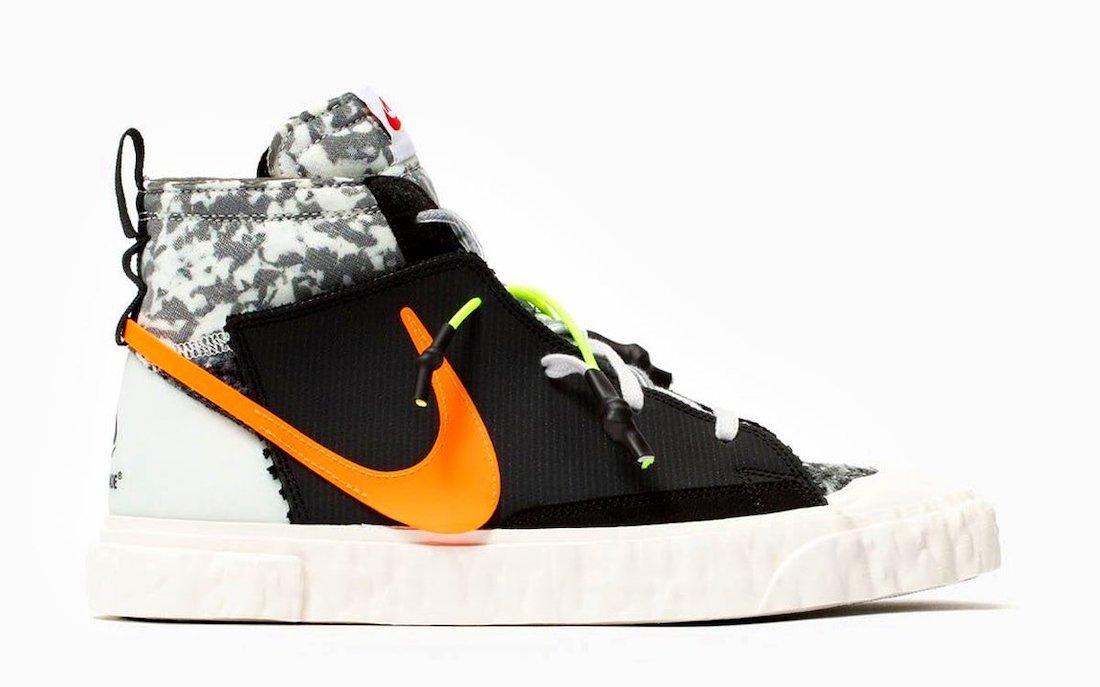READYMADE Nike Blazer Mid Black CZ3589-001