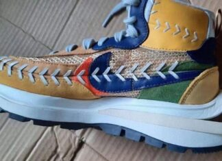 Sacai Jean Paul Gaultier Nike VaporWaffle Multicolor Release Date