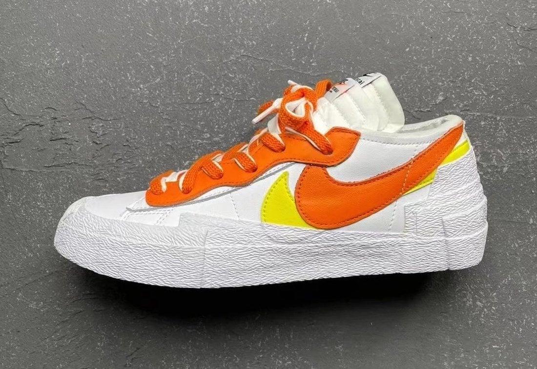 Sacai Nike Blazer Low Magma Orange DD1877-100 Release Price