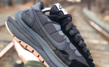 Sacai Nike VaporWaffle Off-Noir Black Gum